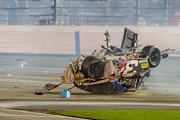 Earnhardt 'near tears' following No. 3's airborne crash