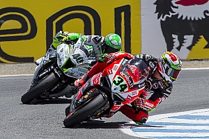 Davide Giugliano is forced to interrupt his 2015 SBK season
