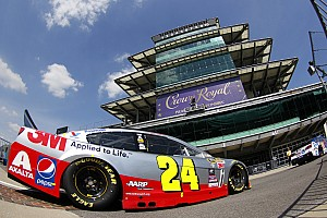 NASCAR Sprint Cup Preview Gordon struggling for speed in final Brickyard 400 start