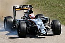Force India to investigate front wing failure