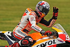 MotoGP Qualifying report Indy MotoGP: Marquez scorches to pole, Rossi down in eighth