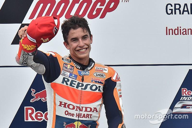 Ainda crendo no título, Márquez diz que meta é ganhar corridas