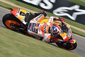 MotoGP Practice report Brno MotoGP: Marquez beats Lorenzo, then crashes