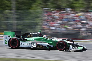 IndyCar Qualifying report Muñoz lead Andretti Four qualifying efforts at Pocono