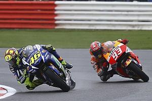 MotoGP Race report Silverstone MotoGP: Rossi wins, Marquez tumbles