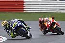 Silverstone MotoGP: Rossi wins, Marquez tumbles