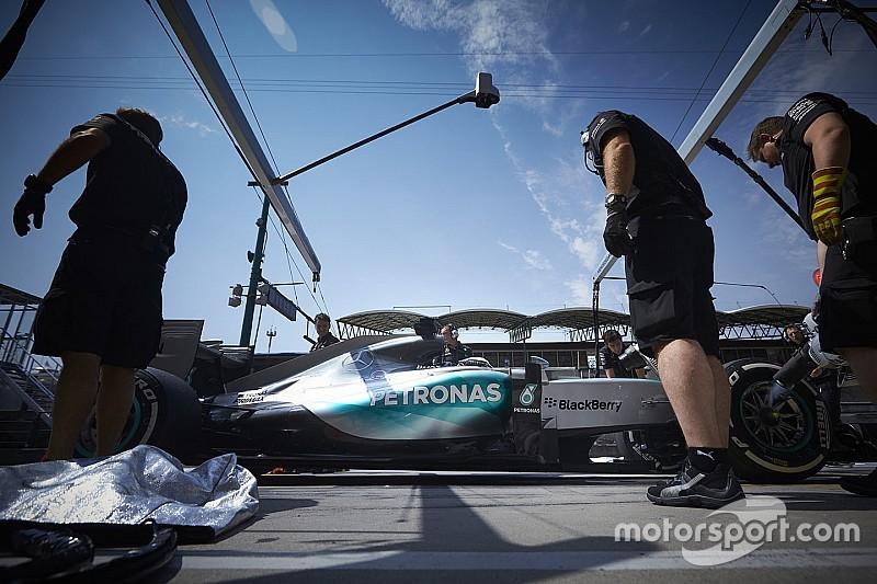 Mercedes usa siete tokens en su unidad de potencia