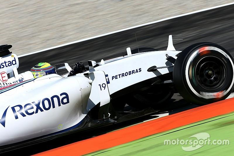 """No pódio, Massa se diz """"velho demais"""" para disputa no final"""