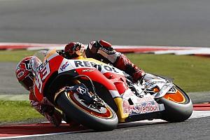 MotoGP Practice report Misano MotoGP: Marquez tops FP1, Rossi down in sixth