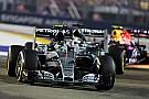 Mercedes descarta los chismes sobre neumáticos en Singapur