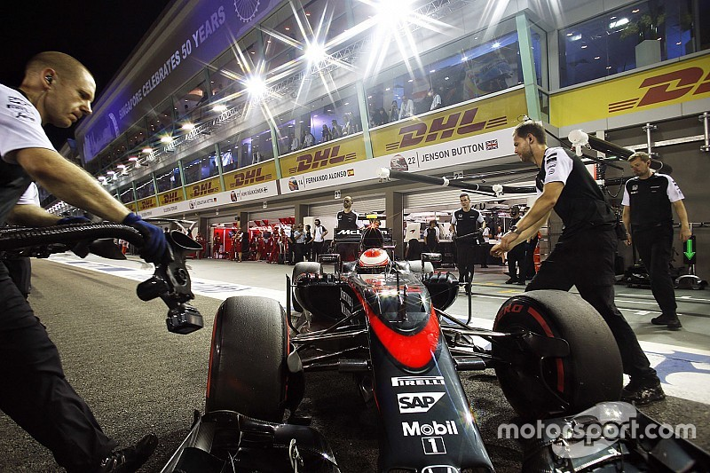 McLaren probará soluciones en la caja de cambios