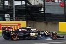 Grosjean quería vencer a Force India