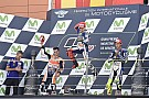 Lorenzo domina y cierra la diferencia con Valentino en Aragón