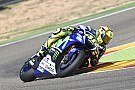 Rossi crashes during latest Michelin test at Aragon