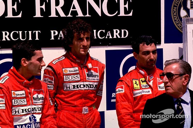 Biografía de Prost da detalles de rivalidad con Senna