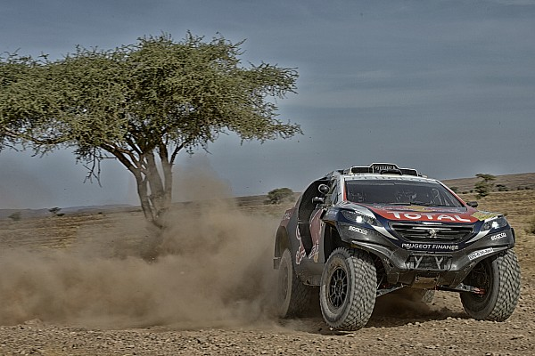 Cross-Country Rally Leg report Loeb's Dakar preparation hindered by mechanical failure