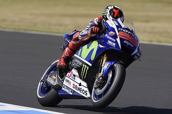 Lorenzo lidera dia em Motegi e Rossi é apenas 8º