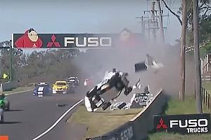 Touring Breaking news Bathurst support race cut short after horror crash