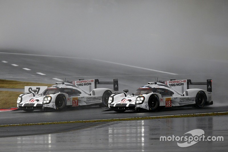 Fuji WEC: Porsche sweeps to one-two in wet thriller