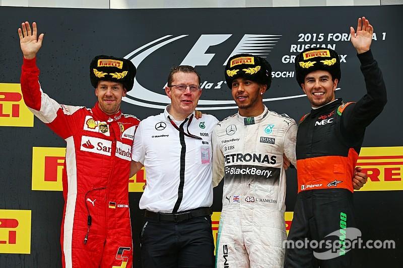 Pérez pensó que el podio no sería posible