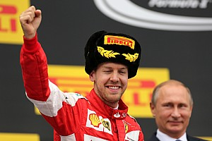 Formula 1 Race report Vettel runner-up, Raikkonen fifth at Sochi
