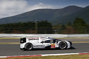 WEC Breaking news Porsche already track testing 2016 developments