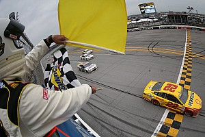 NASCAR Sprint Cup Race report Logano wins in controversial finish at Talladega