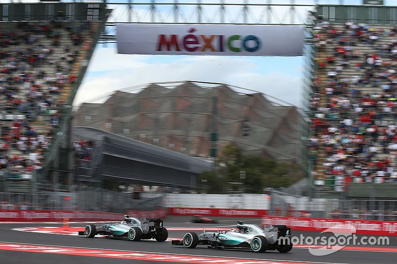 Mercedes: Eventful but productive opening day at the Autódromo Hermanos Rodríguez