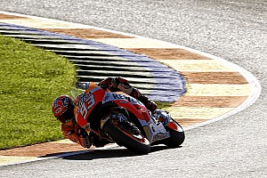 MotoGP Practice report Season finale gets underway in Valencia
