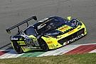 Ferrari Coppa Shell - Erich Prinoth sort de la mêlée au Mugello