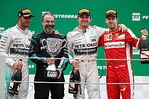 Formula 1 Race report Brazilian GP: Rosberg thwarts Hamilton with lights-to-flag victory