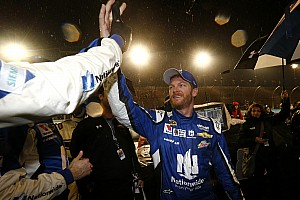 NASCAR Sprint Cup Race report Dale Earnhardt Jr. wins rain-shortened Cup race