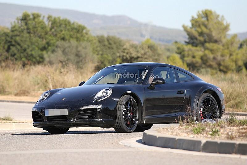 Gespot: Porsche test volgende generatie 911 op openbare weg