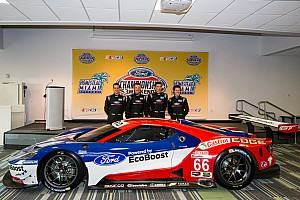 IMSA Breaking news Ganassi officially names full-season Ford GT drivers