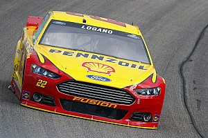 NASCAR Sprint Cup Practice report Logano leads Happy Hour, Gordon fastest among title contenders