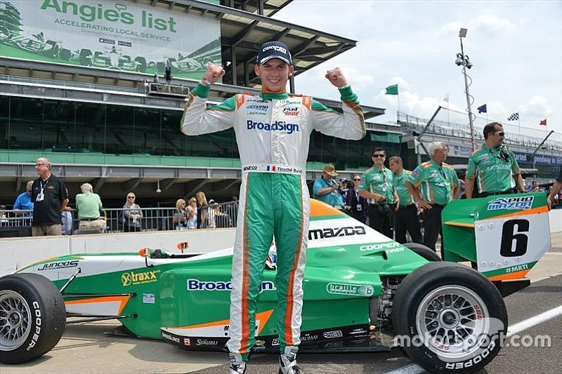 Pro Mazda teammates Buret and Owen join TRS
