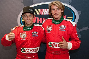 NASCAR Euro Interview Hunt aims for