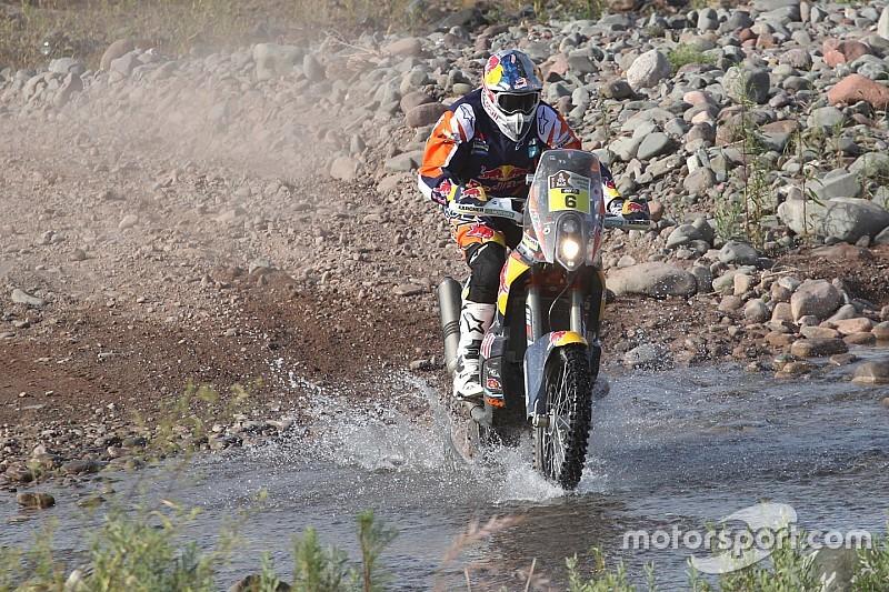 Injured Sunderland ruled out of Dakar Rally