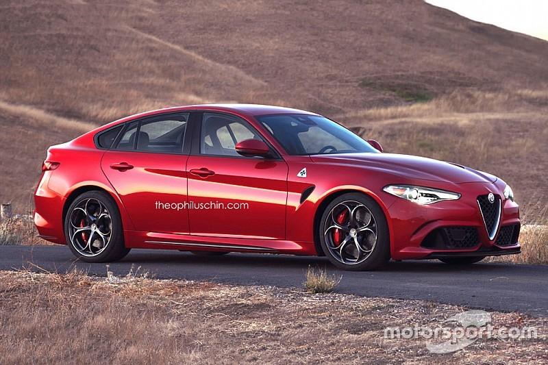 De Alfa Romeo Giulia als Fastback: wie wil 'm hebben?