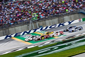 NASCAR Sprint Cup Breaking news Kentucky Speedway is getting a facelift