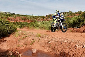 Dakar Stage report Duclos keeps Sherco TVS in top 10