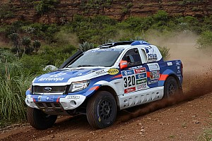 Dakar Stage report Xavier Pons gains three places and guides his Ford Ranger to new Dakar Rally heights in Bolivia