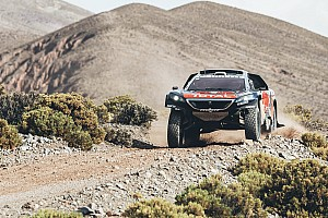 Dakar Breaking news Two punctures, stuck throttle nullify Loeb's Dakar lead