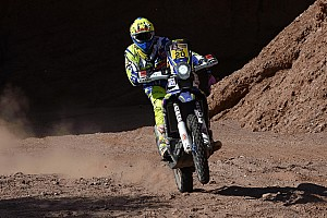 Dakar Stage report Sherco TVS riders drop places after difficult stage nine