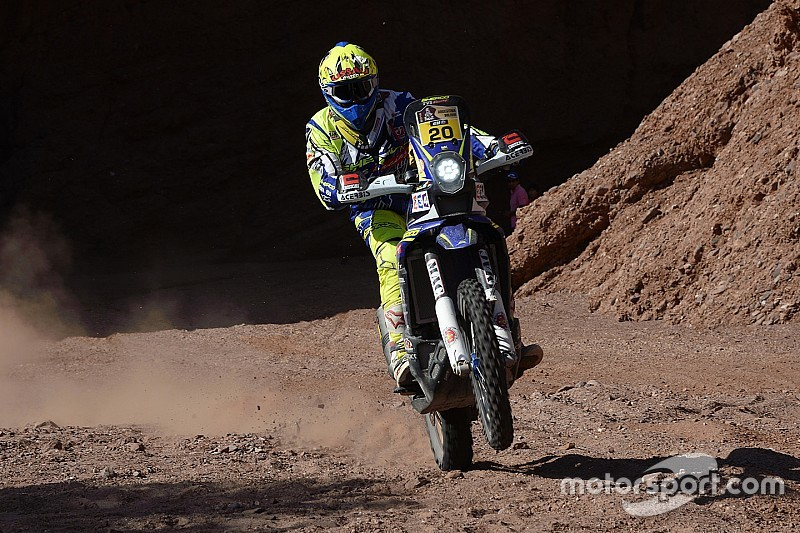 Sherco tvs riders drop places after difficult stage nine for Salon 7 places dakar