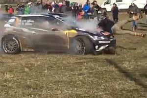 WRC Últimas notícias Piloto que atropelou fotógrafo em rali é punido por acidente