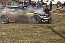 WRC Piloto que atropelou fotógrafo em rali é punido por acidente