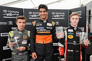 Other open wheel Breaking news Daruvala takes positives from Teretonga weekend