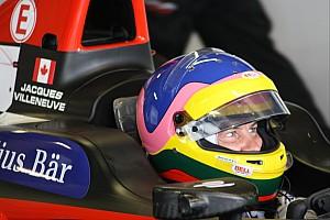 Formula E Interview Villeneuve: No plans after Formula E exit