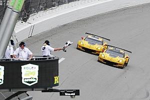 LMP2赛车戴通纳24小时首胜 GTLM组1-2名仅相差0.034秒